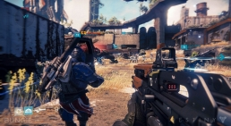 Destiny, assault rifle screenshot