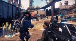 Destiny, assault rifle screenshot