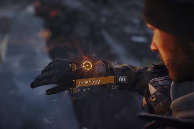 The Division In Game Menu