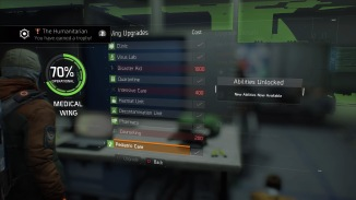 Tom Clancy's The Division™ Medical Wing Upgrades